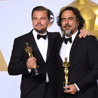 Leonardo DiCaprio and Alejandro González Iñárritu Oscars 2016