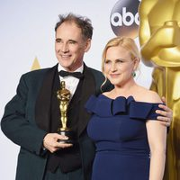 Mark Rylance and Patricia Arquette Oscars 2016