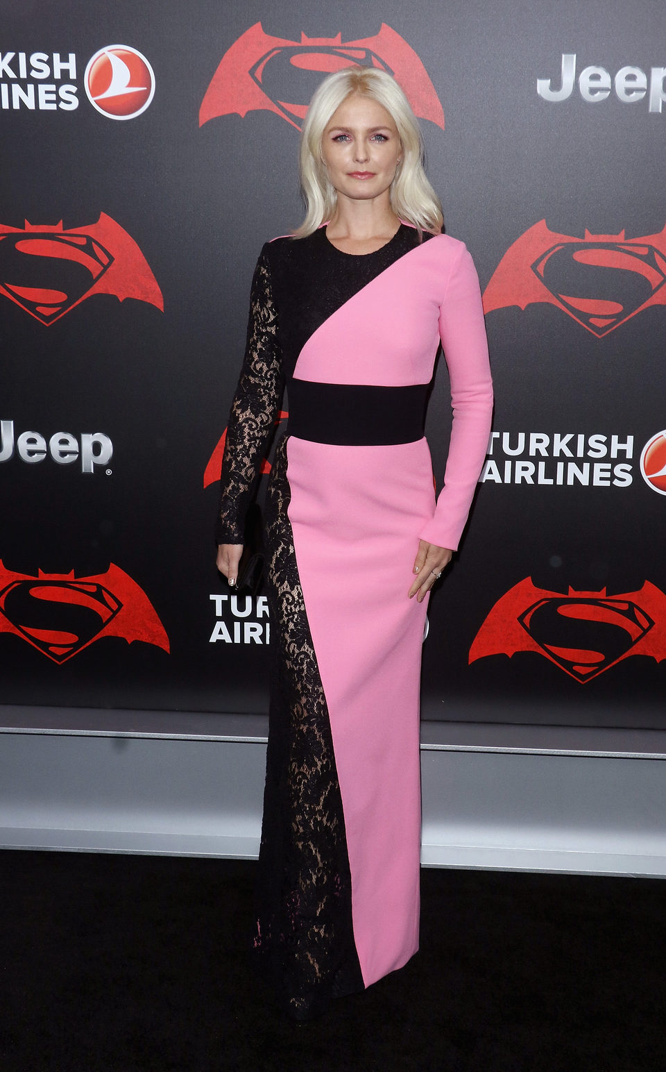 Actress Whitney Able at 'Batman v Superman' Premiere in New York