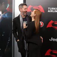 Darren Le Gallo and Amy Adams together at 'Batman v Superman' Premiere in New York