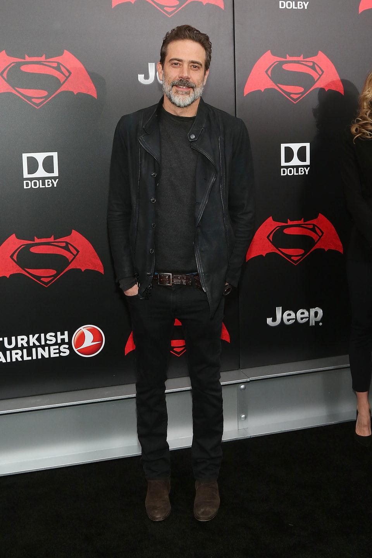 Jeffrey Dean Morgan at 'Batman v Superman' Premiere in New York