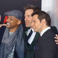 Will Smith, Ben Affleck and Henry Cavill at 'Batman v Superman' Premiere in New York