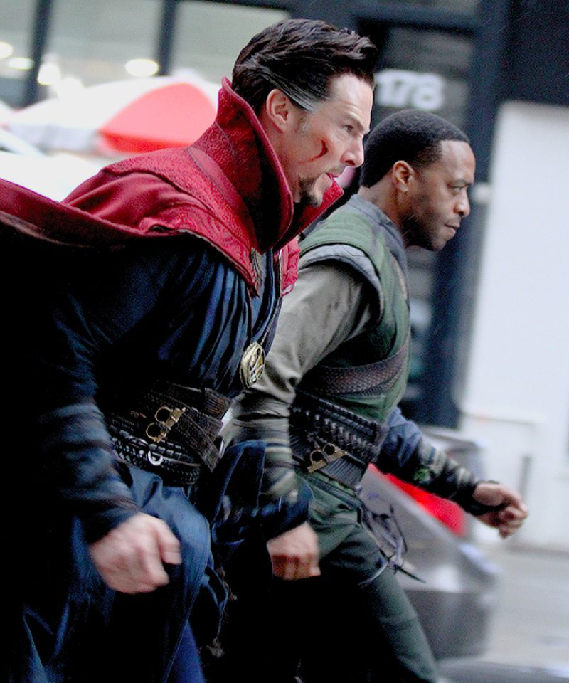 Benedict Cumberbatch and Chiwetel Ejiofor going to fight