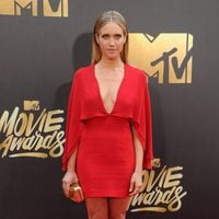 Brittany Snow at the 2016 MTV Movie Awards' red carpet