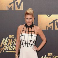Carrie Keagan at the 2016 MTV Movie Awards' red carpet
