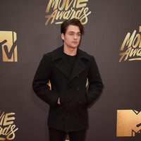 Dylan Sprayberry at the 2016 MTV Movie Awards' red carpet