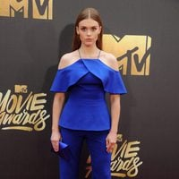Holland Roden at the 2016 MTV Movie Awards' red carpet