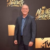 Larry Shuman at the 2016 MTV Movie Awards' red carpet