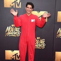 Tyler Posey at the 2016 MTV Movie Awards' red carpet