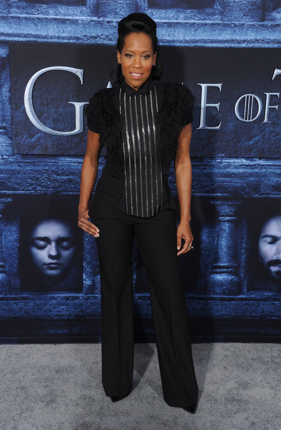 Regina King at the premiere of 'Game of Thrones' Season Six