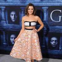 Maisie Williams at the premiere of 'Game of Thrones' Season Six