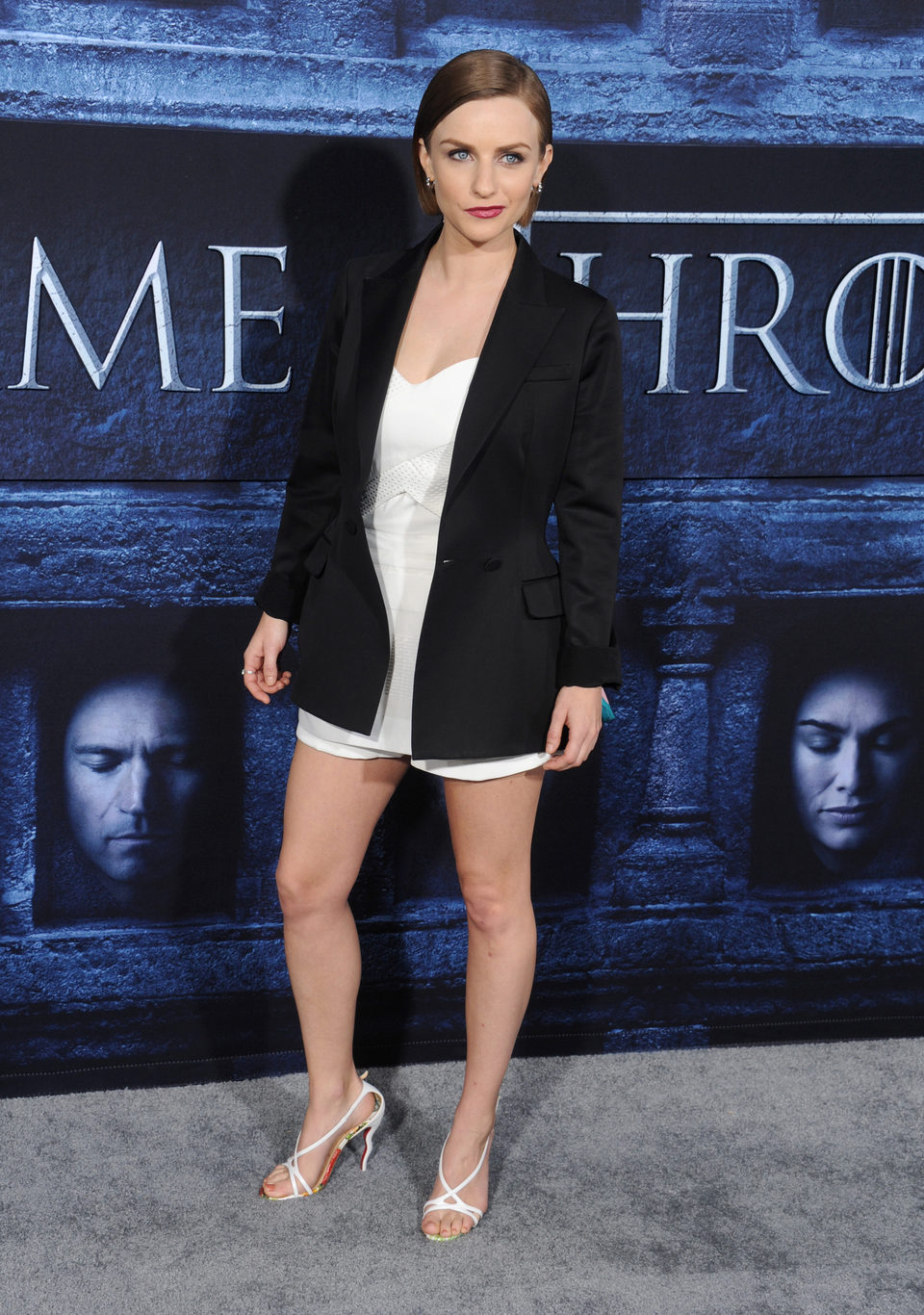 Faye Marsay at the premiere of 'Game of Thrones' Season Six