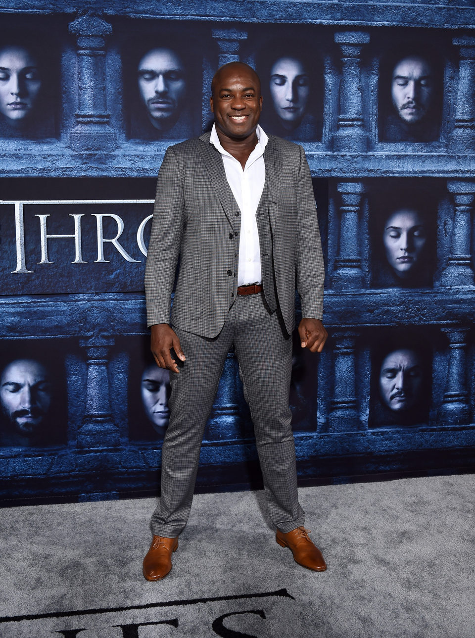 DeObia Oparei at the premiere of 'Game of Thrones' Season Six