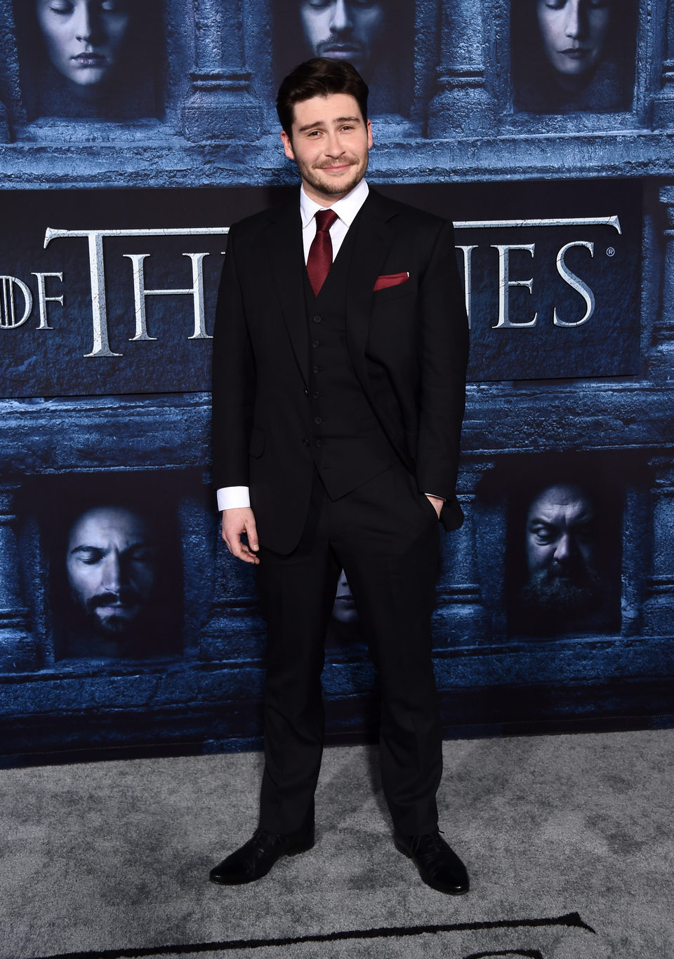 Daniel Portman at the premiere of 'Game of Thrones' Season Six