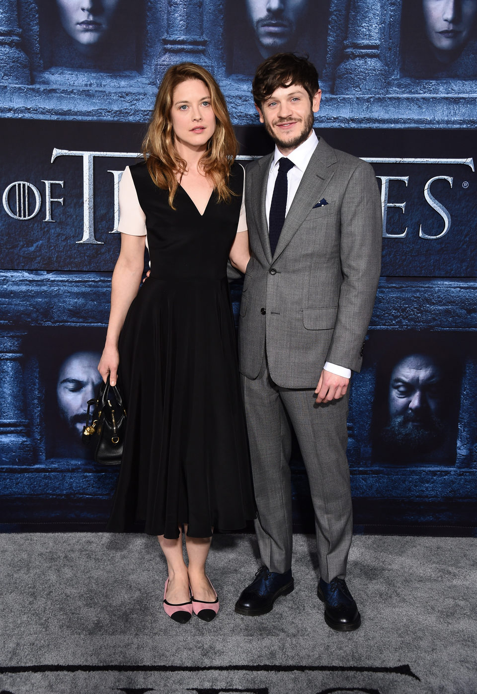 Iwan Rheon at the premiere of 'Game of Thrones' Season Six