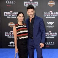 Frank Grillo and Wendy Moniz at 'Captain America: Civil War' World Premiere