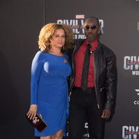 Don Cheadle and Bridgid Coulter at 'Captain America: Civil War' World Premiere