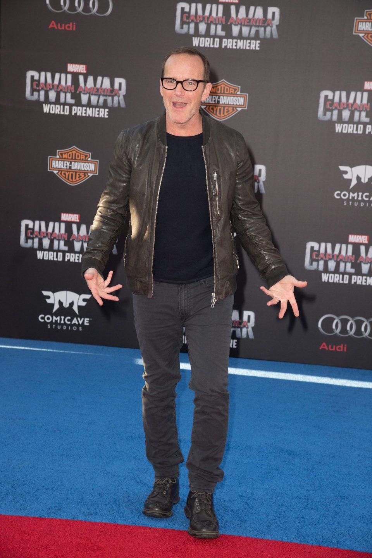 Clark Gregg at 'Captain America: Civil War' World Premiere