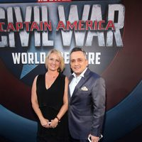 Joe Russo accompanied at 'Captain America: Civil War' World Premiere
