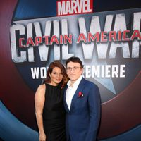 Anthony Russo accompanied at 'Captain America: Civil War' World Premiere