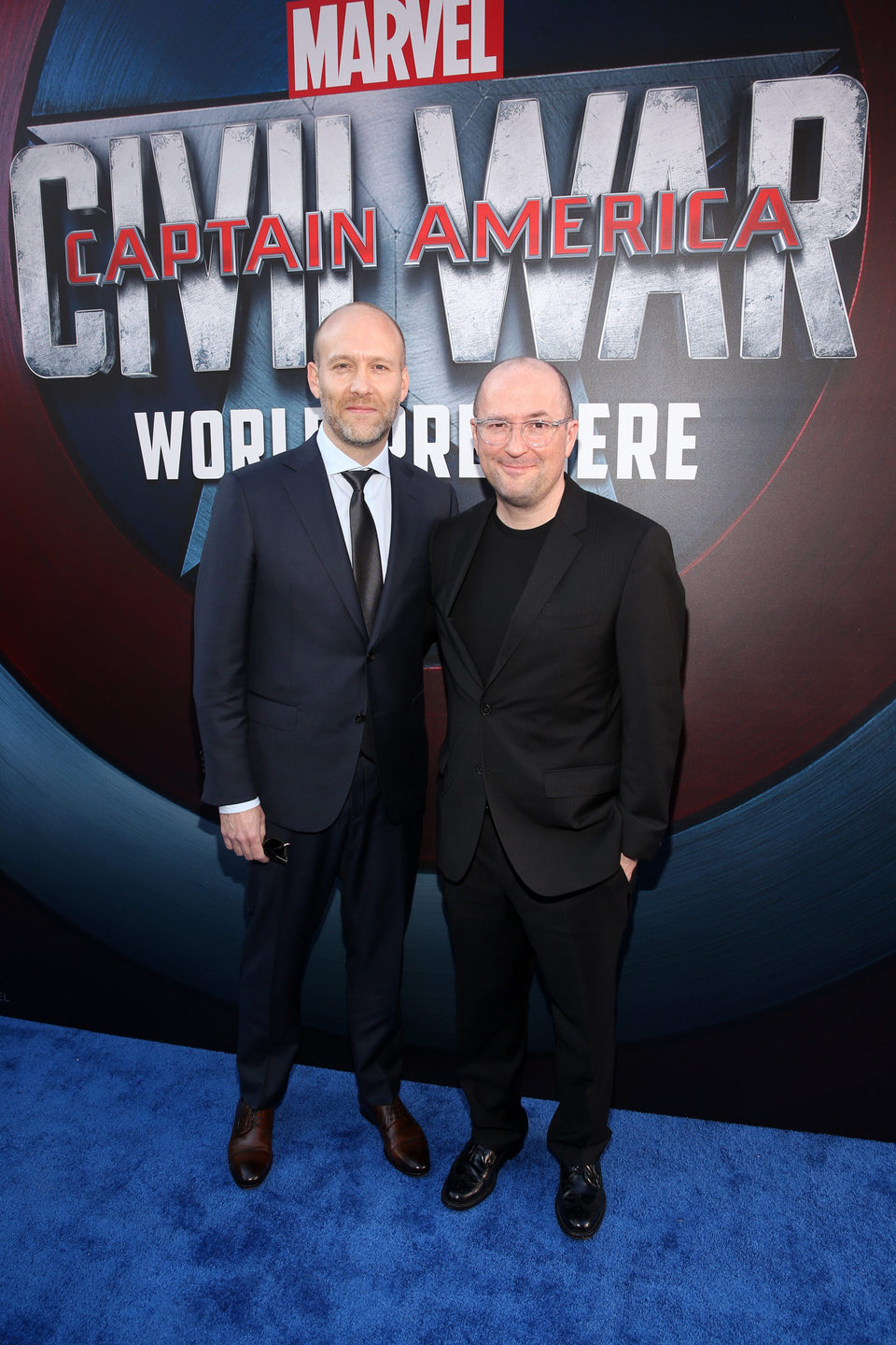 Christopher Markus and Stephen McFeely at 'Captain America: Civil War' World Premiere