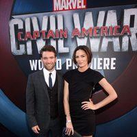 Sam Hargrave and Monique Ganderton at 'Captain America: Civil War' World Premiere