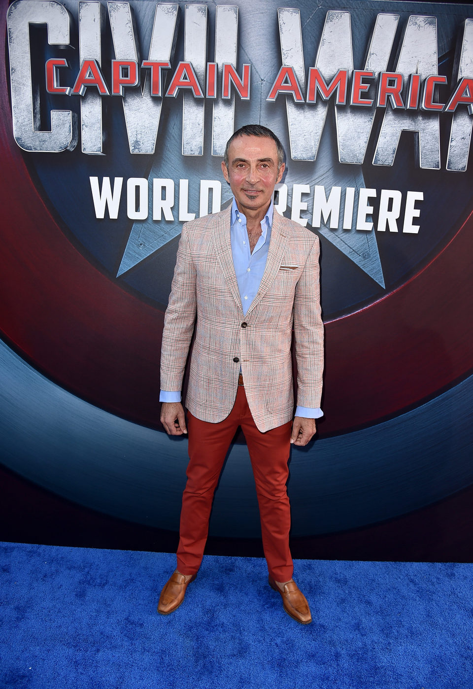 Shaun Toub at 'Captain America: Civil War' World Premiere