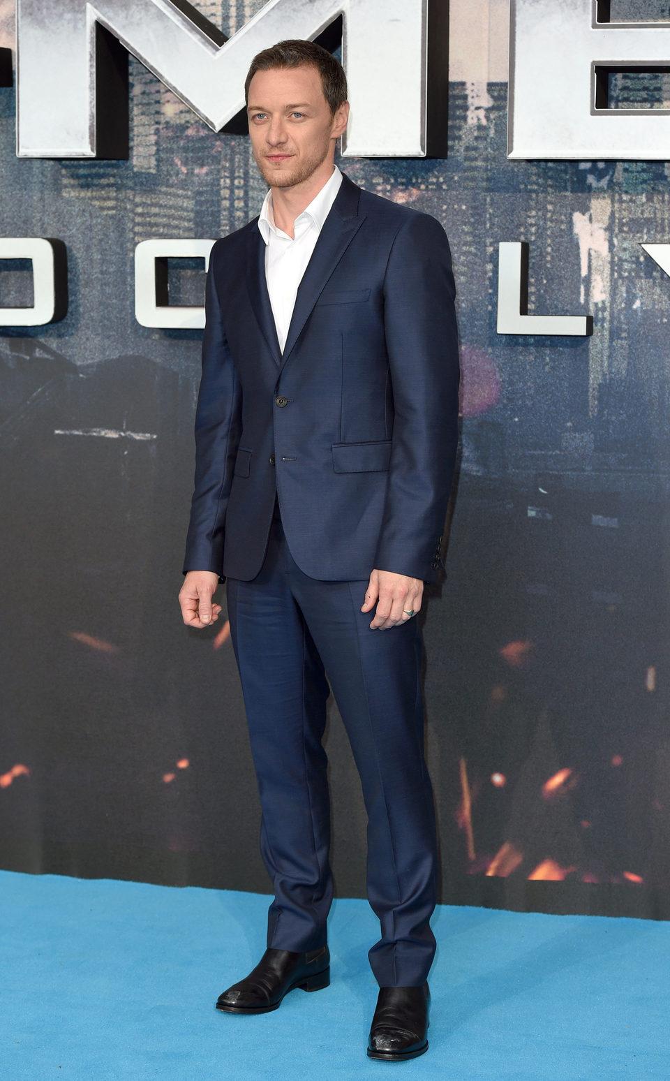 James McAvoy at the 'X-Men: Apocalypse' London premiere