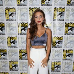 Lindsey Morgan attend the Comic-Con International 2016