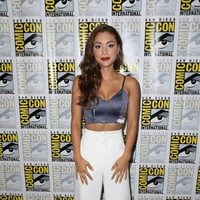 Lindsey Morgan attend the Comic-Con International 2016
