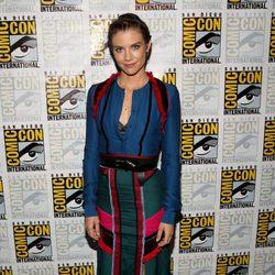 Lauren Cohan attend the Comic-Con International 2016