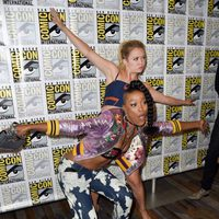Billie Lourd and Keke Palmer attend the Comic-Con International 2016