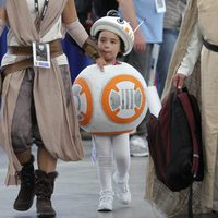 BB-8 Cosplay attend the Comic-Con International 2016