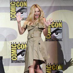 Margot Robbie during Comic-Con 2016