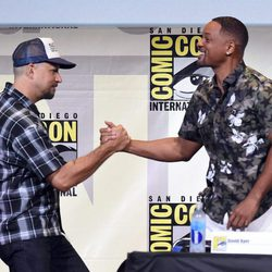 Will Smith with David Ayer