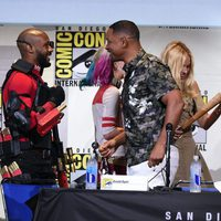 Will Smith and Margot Robbie with there characters of 'Suicide Squad'