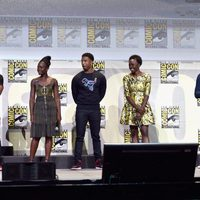 'Black Panther' cast at Marvel's Panel