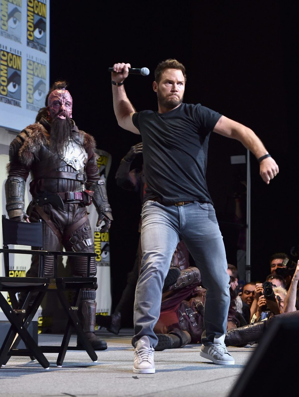Chris Pratt at Comic-Con