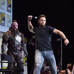 Chris Pratt at Comic-Con