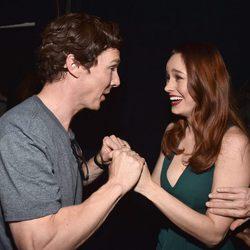 Benedict Cumberbatch with Brie Larson