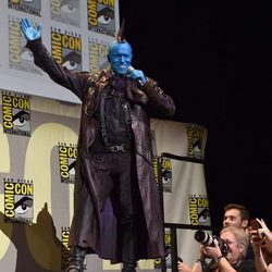 Michael Rooker make up at Comic-Con