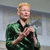 Tilda Swinton speech at Comic-Con 2106