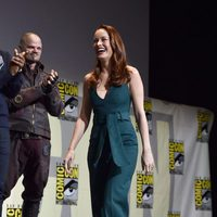 Brie Larson at Marvel's panel