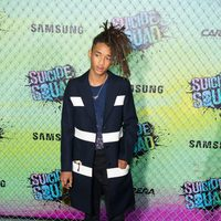 Jaden Smith at the 'Suicide Squad' world premiere