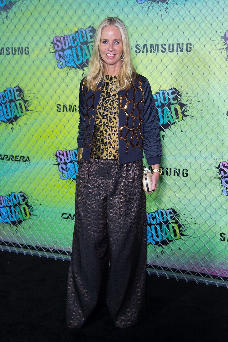 Diane Nelson at the 'Suicide Squad' world premiere
