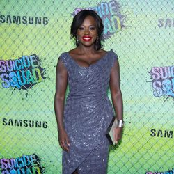 Viola Davis at the 'Suicide Squad' world premiere