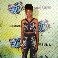 Shailyn Pierre-Dizon at the 'Suicide Squad' world premiere