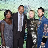 Some members of cast at the 'Suicide Squad' world premiere