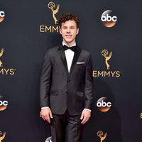 Nolan Gould at the Emmys 2016 red carpet