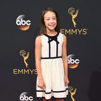 Aubrey Anderson-Emmons at the Emmys 2016 red carpet